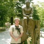 imola agosto 07 monumento ad ayrton senna